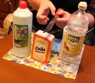 Как очистить ржавые ключи