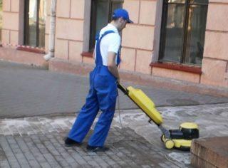 Как очистить гранитную плитку от цемента