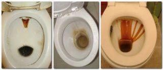 Очистить унитаз от налета в домашних условиях