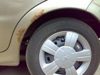 Чем обработать арки колес от шума