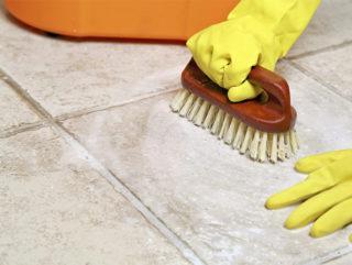 Чем отмыть грунтовку с плитки и как очистить