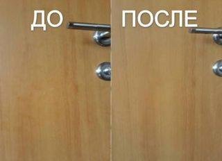 Как отмыть двери от жира