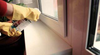 Как удалить наклейку и следы клея со стекла