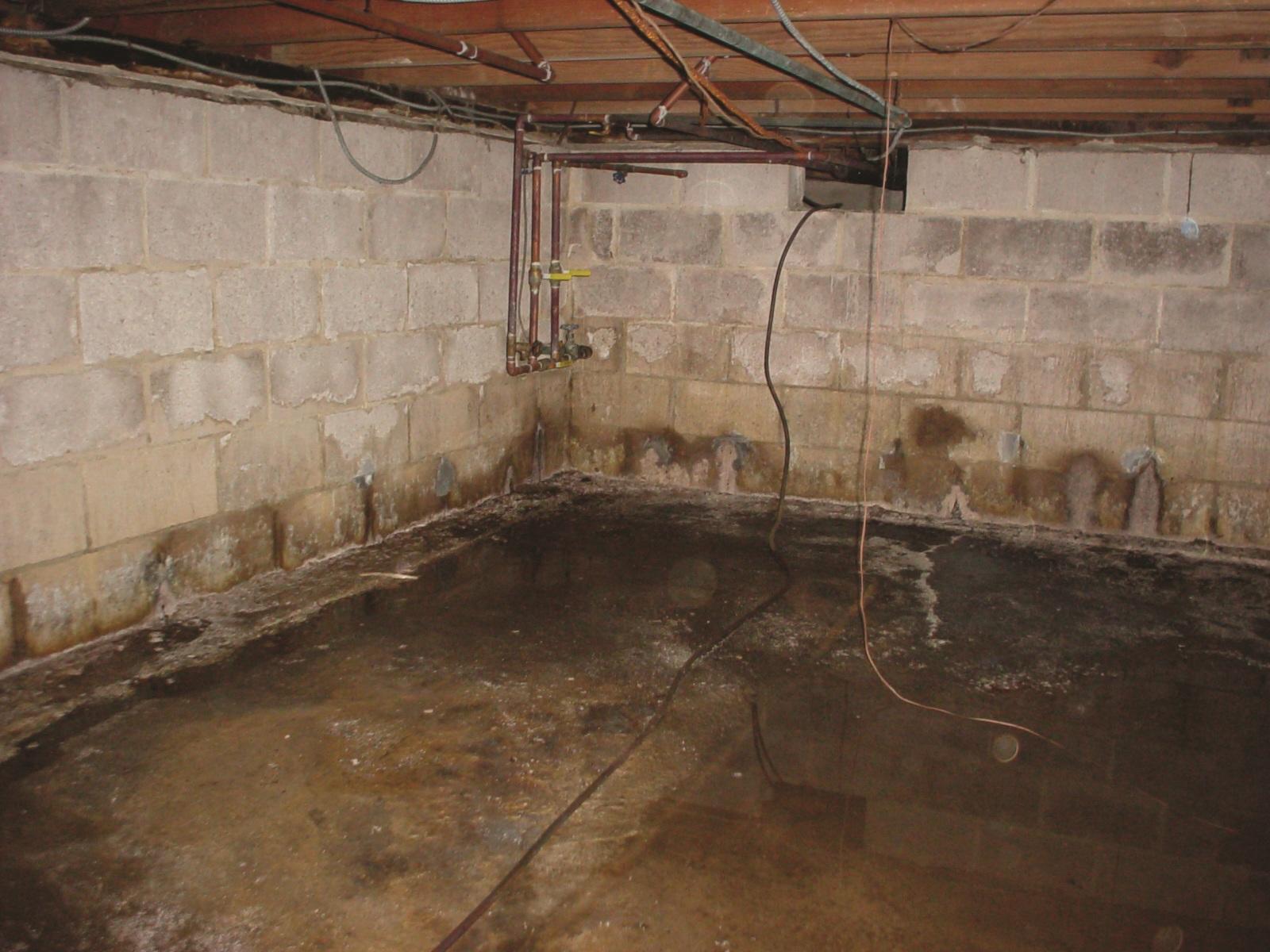 как осушить подвал дома от сырости