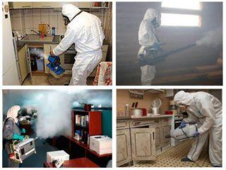 Уборка квартиры после умершего человека