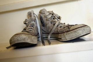 Грязная обувь всегда смотрится не опрятно