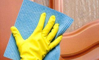 Чем отмыть жирные пятна, налет и копоть с матового стекла