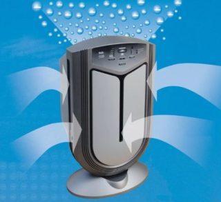 Прибор обеспечивает очистку воздуха не только от пыли, но и от различных микроорганизмов