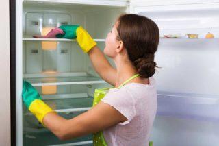 Средство для мытья холодильника внутри